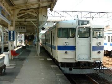 水俣駅プラットホーム=熊本県水...